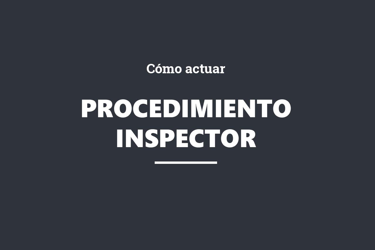 online_procedimiento inspector
