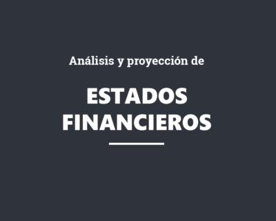 Análisis y proyección de estados financieros