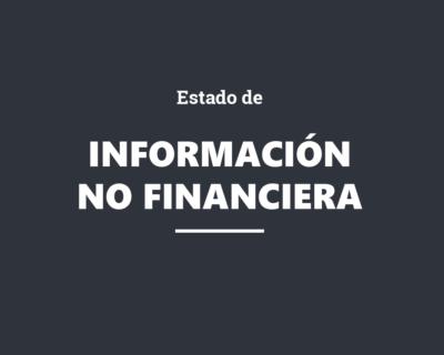 Estado de información no financiera (Ley 11/2018 sobre información no financiera y diversidad)