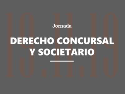 Jornada de Derecho Concursal y Societario