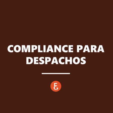 Compliance para despachos profesionales