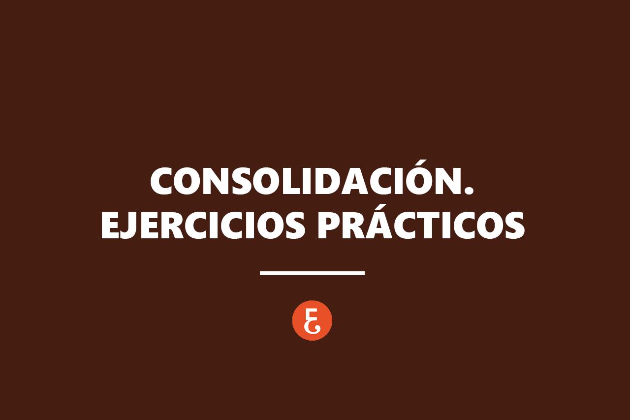 CONSOILDACION EJERCICIOS
