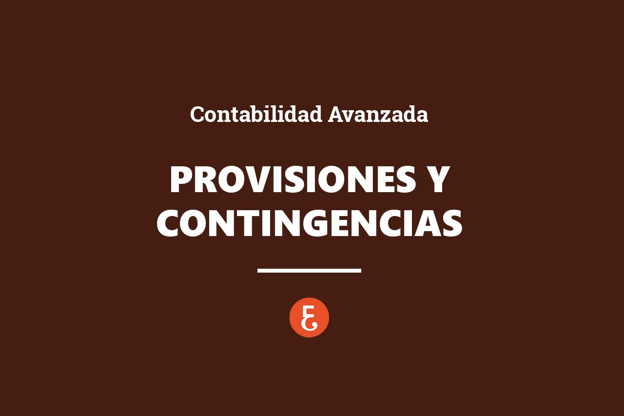 CONTABILIDAD AVANZADA_provisiones