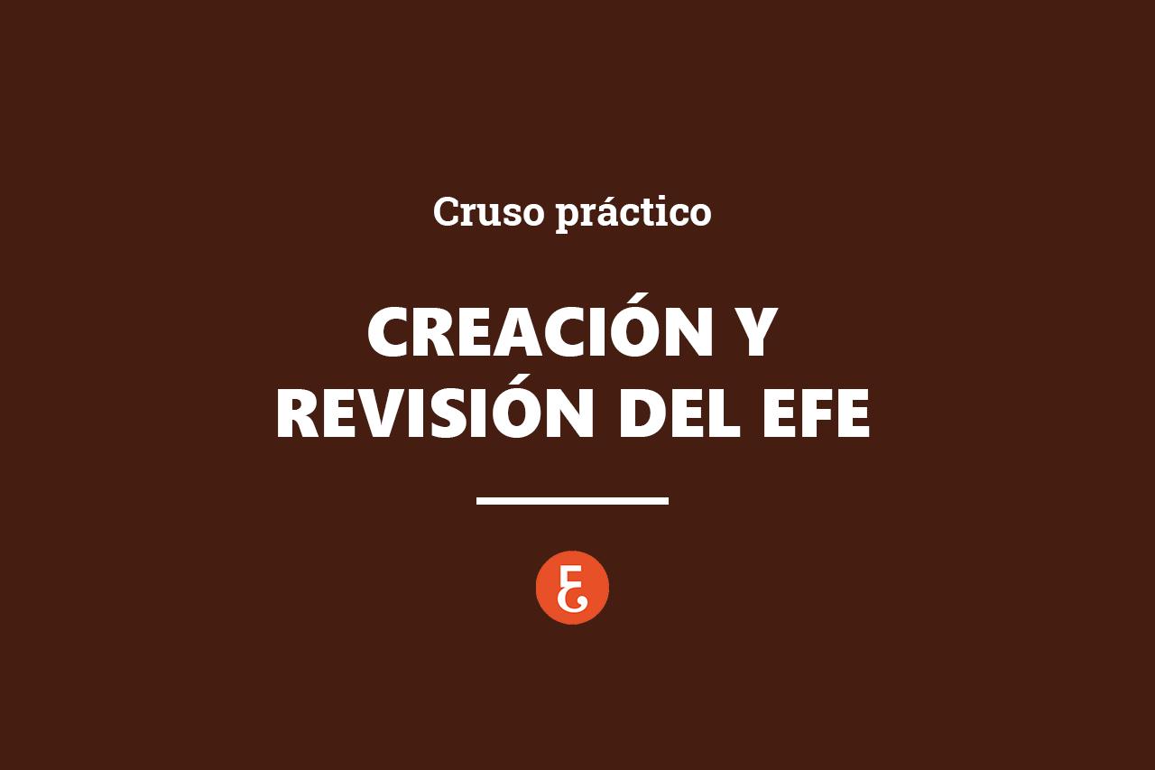 CREACION Y REVISION EFE