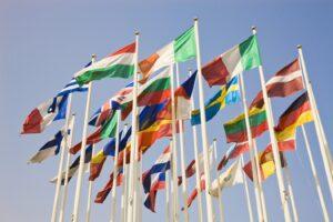 banderas europeas