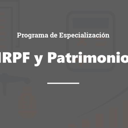Programa de Especialización Profesional en IRPF e Impuesto sobre el Patrimonio_Asturias