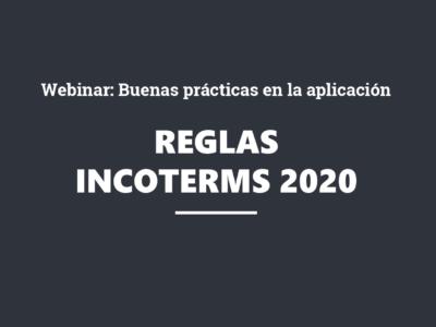 Webinar: Buenas prácticas en la aplicación de las reglas Incoterms® 2020 ICC