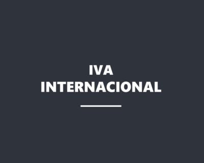 IVA en las operaciones internacionales