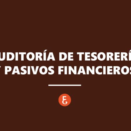 Auditoría de tesorería y pasivos financieros