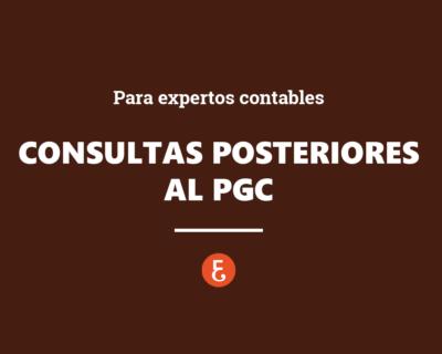 Resolución y consultas posteriores al PGC para Expertos Contables. Webinar